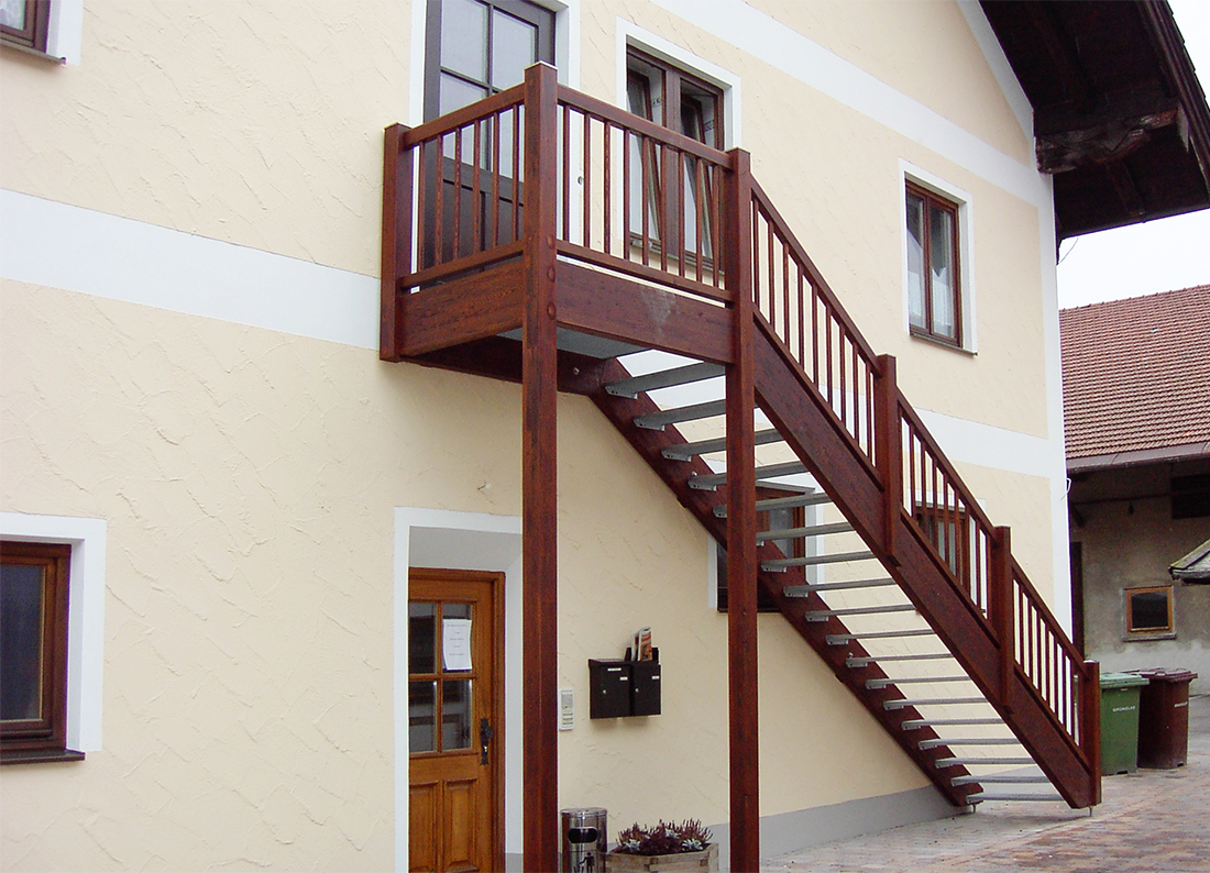 Top Außentreppen mit Geländer nach Maß - Kliegl Treppenbau DF73