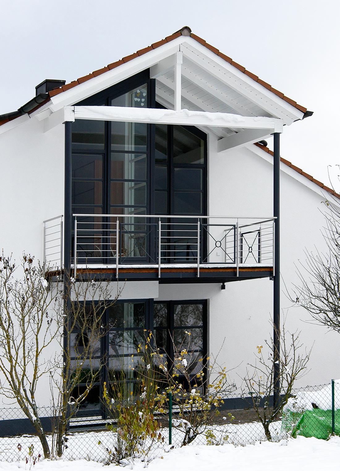 individuelle balkone & Überdachungen - kliegl treppenbau, Moderne