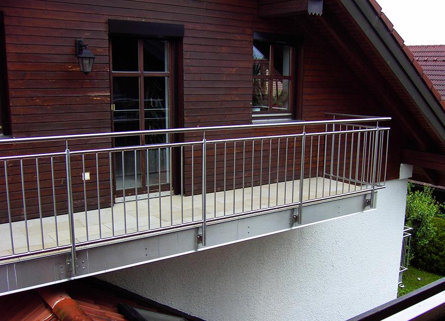 Geländer & Absturzsicherungen für Balkone Kliegl Treppenbau