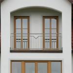 Absturzsicherung in der Fensterleibung