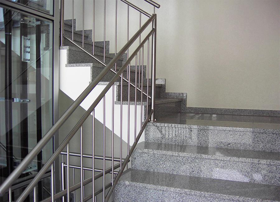 edelstahl gel nder treppe hausidee. Black Bedroom Furniture Sets. Home Design Ideas
