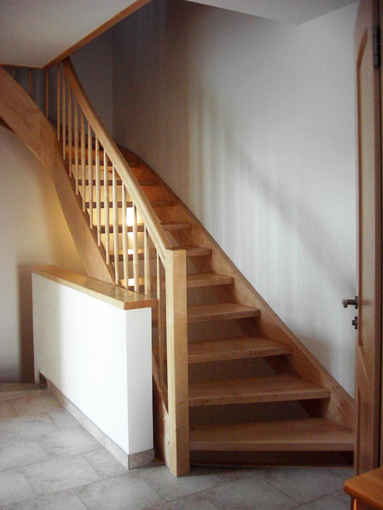 holzwangentreppen kliegl treppenbau. Black Bedroom Furniture Sets. Home Design Ideas