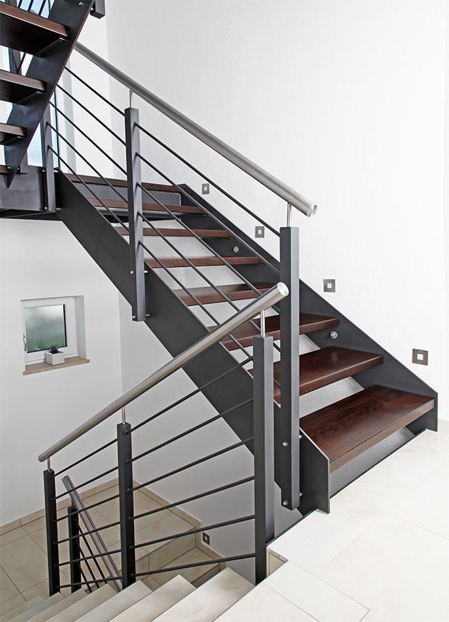 stahlwangentreppen kliegl treppenbau. Black Bedroom Furniture Sets. Home Design Ideas