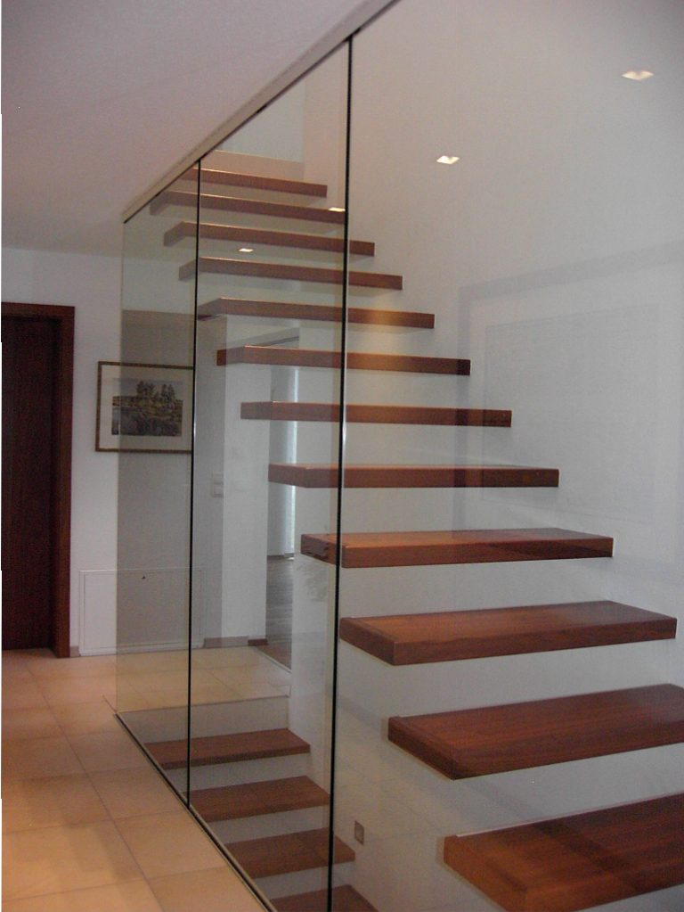 Absturzsicherung Treppe vollsystemtreppen kliegl treppenbau