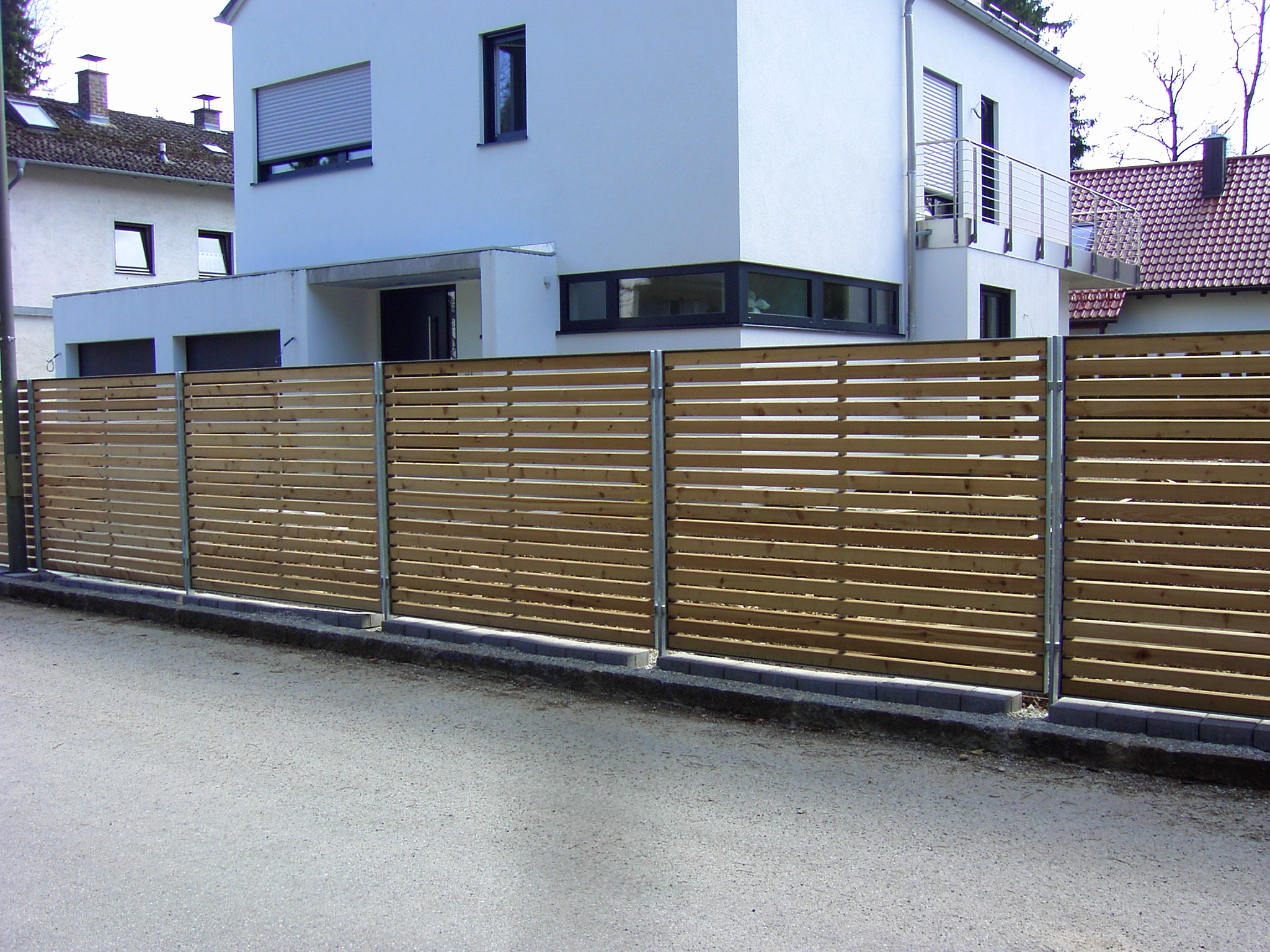 Gartenzaun Holz Quer Zaun Holz Sichtschutz Jr73 U2013 Hitoiro