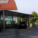 Carport in Stahl