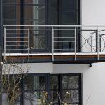 Balkon abwechselnd